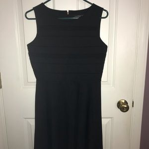 Knee-Length Black Dress